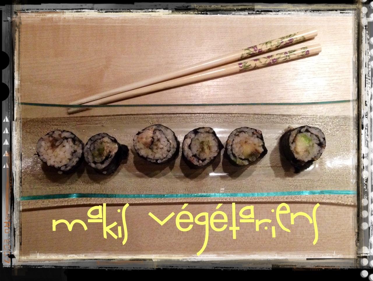 Recette de Makis végétariens