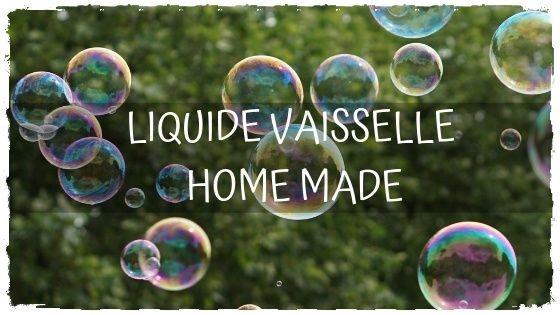 Fabriquez votre liquide vaisselle ecolo!
