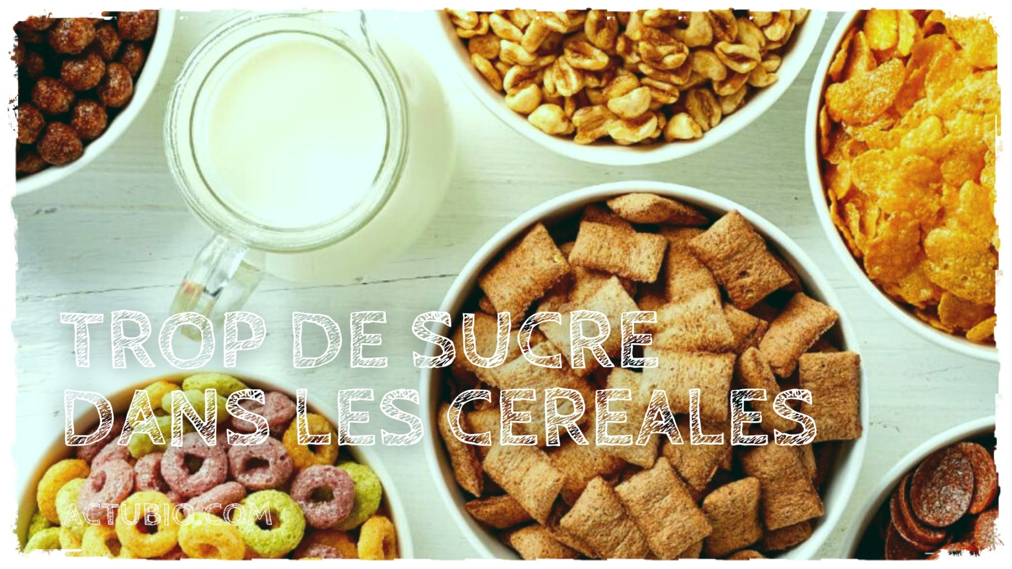 Les céréales le matin…c'est pas toujours bien
