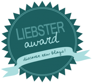Ma nomination au LIEBSTER AWARD
