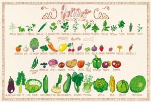 Retrouvez les fruits et légumes de juillet