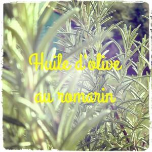 Fabriquez votre huile d'olive au Romarin