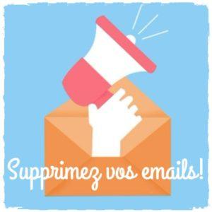 Soyez un écolo 2.0: supprimez vos emails!