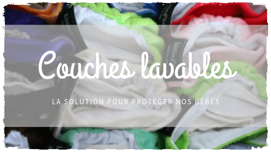 Couches lavables, l'alternative écolo et non toxique