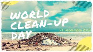Nettoyons la nature lors du World Clean Up Day 2019