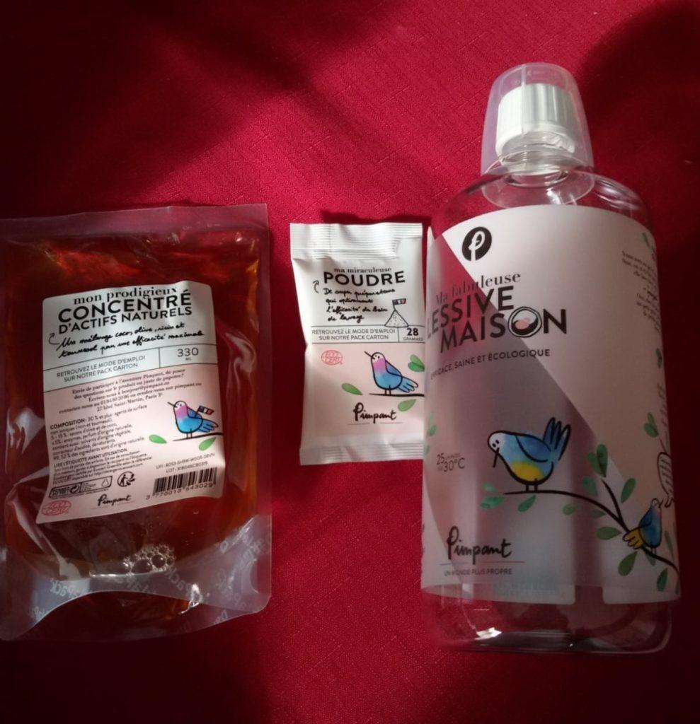 kit lessive ecologique Pimpant