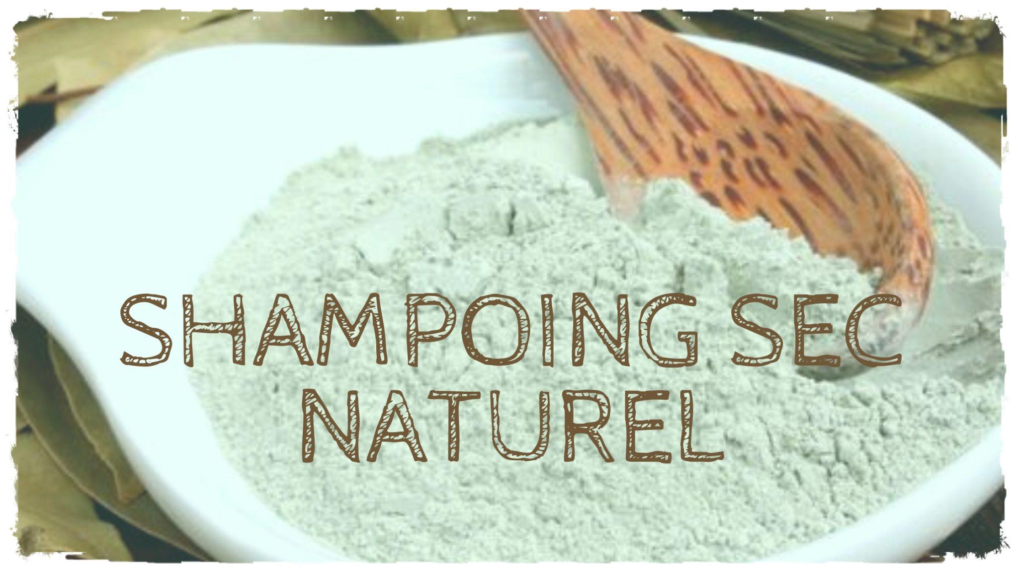 Fabriquer son shampoing sec avec des éléments naturels